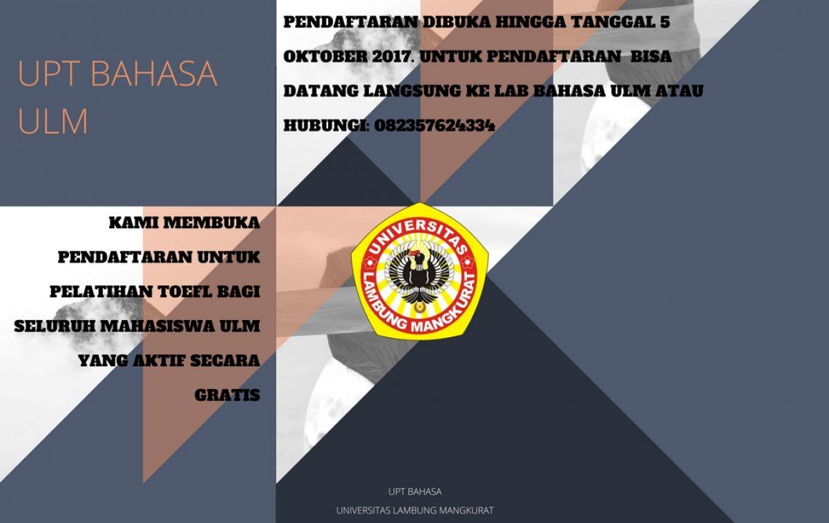 UPT BAHASA UNIVERSITAS LAMBUNG MANGKURAT